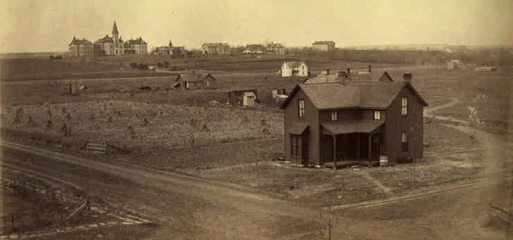 Kansas State University - Aggieville 1895