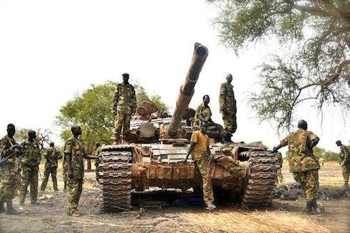 Sudan People's Liberation Army unit. Photo: Nenad Marinkovic