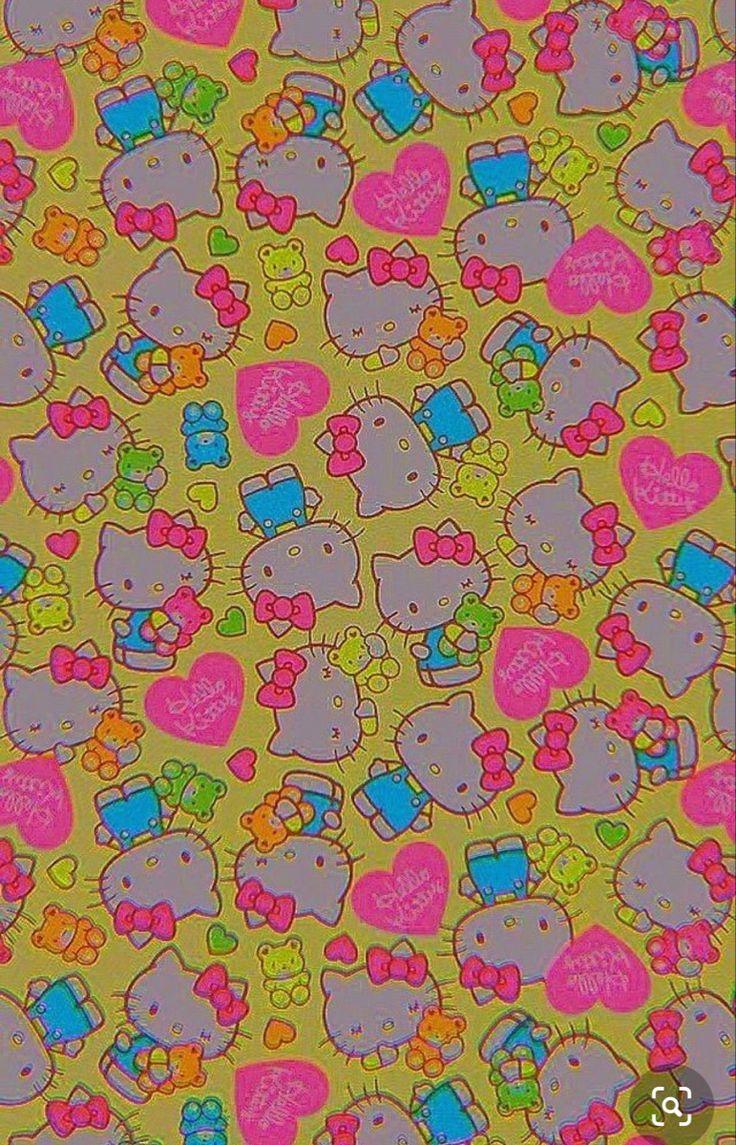 Indie Hello Kitty Wallpaper Hippie Wallpaper Edgy Wallpaper Kitty Wallpaper