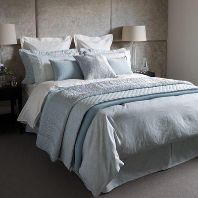 Fable Light blue 350 thread count cotton 'Callista' duvet cover | Debenhams
