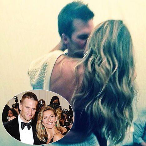 Tom Brady is one lucky birthday boy! The quarterback turned 37 on Sunday, and wife Gisele Bundchen posted a sexy pic of pair to celebrate!
