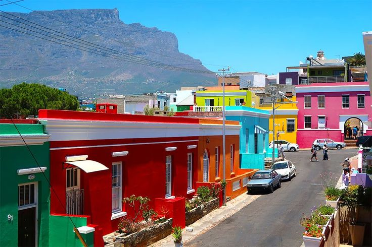 Things to do in Cape Town - Bo Kaap and Table Mountain Cape Town
