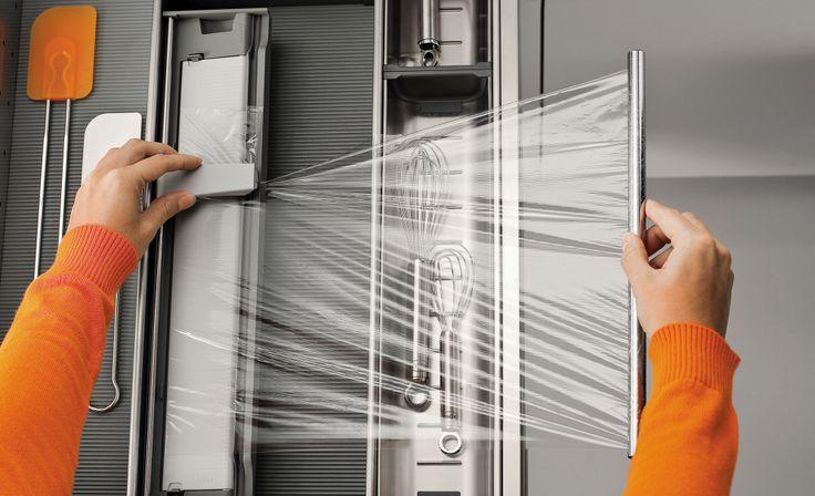 Sigdal kjøkken - innredning plastfolieholder
