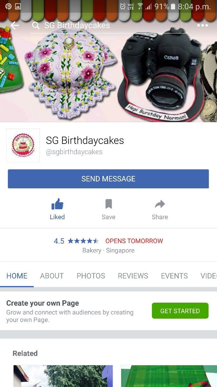 SG Birthdaycakes @ facebook