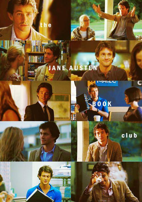Jane Austen Book Club movie - Hugh Dancy as Grigg.  Adorkable!!!
