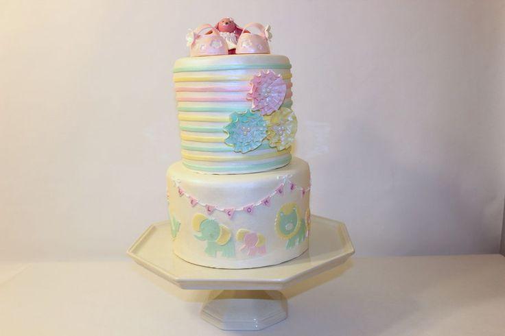 What Do U Write On A Baby Shower Cake
