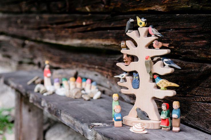 Ostheimer Vogelbaum Sieben Zwerge Moderne Produktfotografie