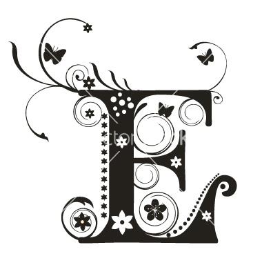 E vector | KreATIvE MoNoGraMs | Pinterest