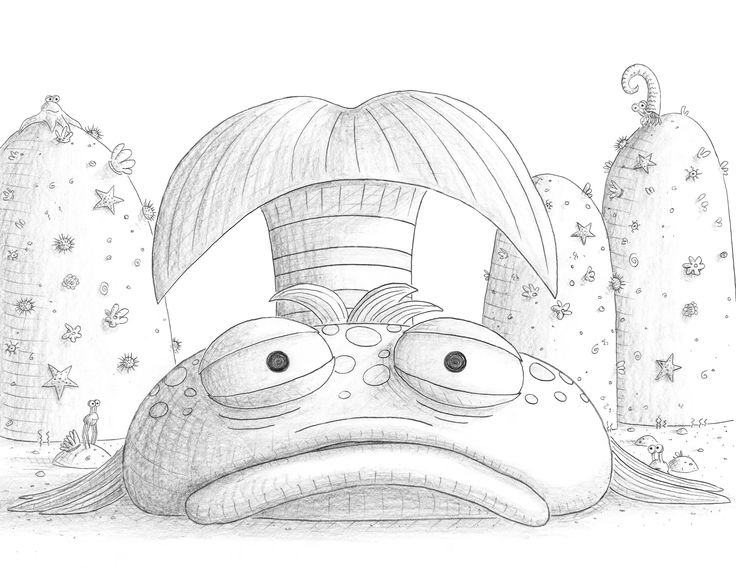 Pin Pout Fish Colouring Pages Page Kamistad Celebrity Pictures Portal ...
