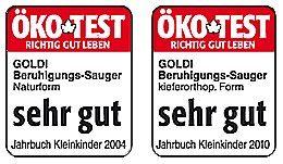Goldi Latex Fopspenen - Zeer Goed zegt Oeko Test