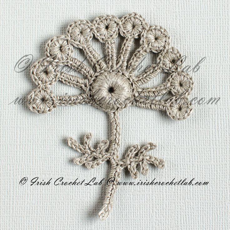 201 besten Irish crochet Bilder auf Pinterest   Irisch häkeln ...