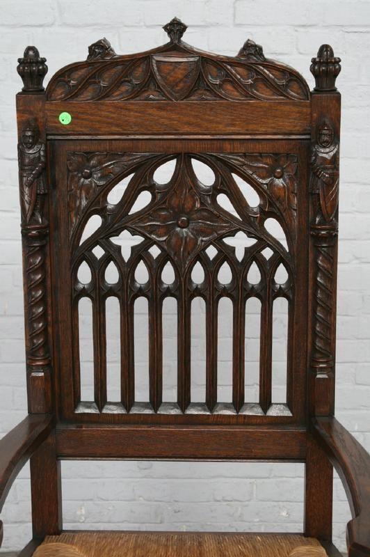 «BersoАнтик» - Письменный стол и кресло