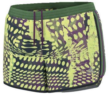 Adidas - Aktiv M10 Damen Laufshort (grün/gelb) - Running - Hardloopkleding - Dames 33.90