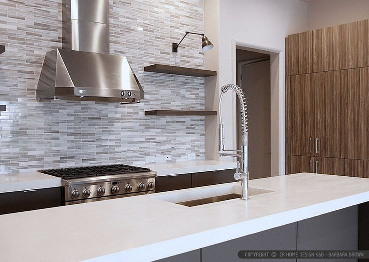 Espresso Kitchen Cabinets Grey Floor