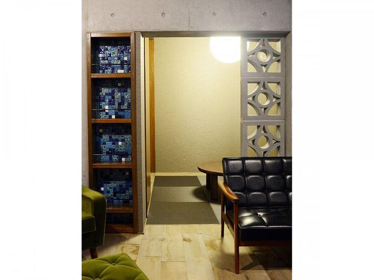 瑠波(るは)と花ブロック - horikenさんの長江陶業の壁材 - イエナカ手帖