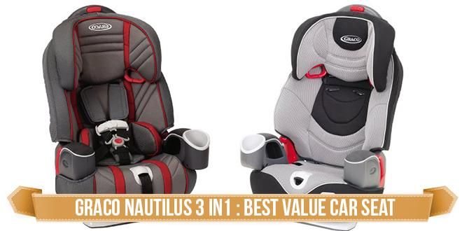 Best Booster Seat With Back Reviews Graco Nautilus 3 In 1