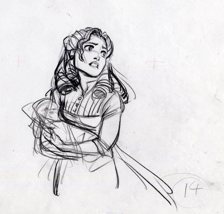 tarzan's mother by glen keane...although she is such a small character I always thought she was beautiful and amazing, I really wish we got to know more about her