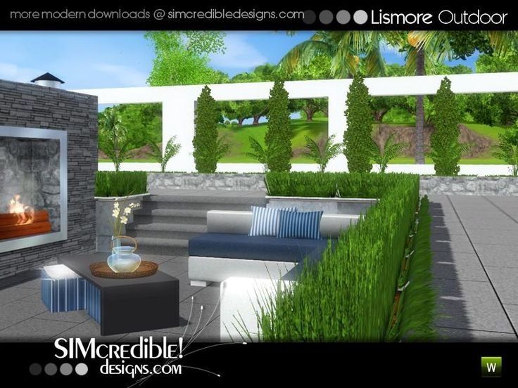 An outdoor set with dining area for your sims ^^ by SIMcredibledesigns.com  Found in TSR Category 'Sims 3 Garden Sets'