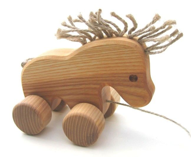 Pull Along Toys - Horse - Handmade