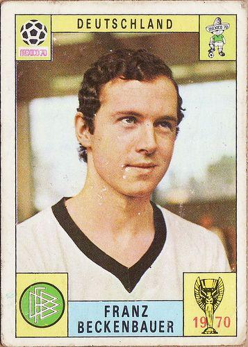 Beckenbauer. 1969-70. Alemania Federal. Mundial de México 1970.