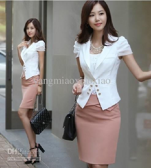 Wholesale Suits & Tuxedo - Buy 2012 Women Suit Business Wear Casual Fashion Sexy Suit Temperament Wear Two-piece Skirt, $119.32 | #MillionDollarShoppersLiz