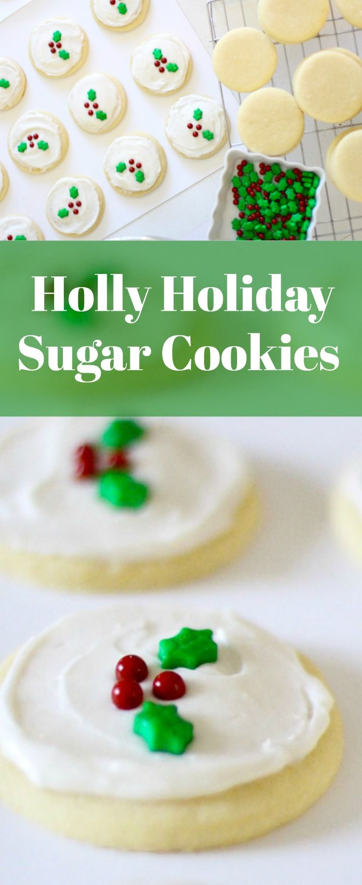 This homemade sugar cookie recipe is the best and perfect for Christmas and the holiday season. They are chewy and soft. The dough is easy to make, and the frosting is delicious! I like these even better than Swig!