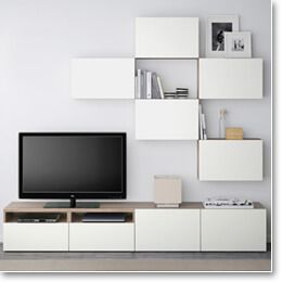 34 best wood on walls images on pinterest home - Ikea mueble salon tv ...
