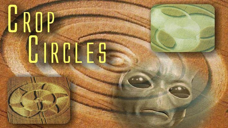 UFO - Crop Circles - Cerchi nel grano - Ideogrammi Extraterrestri