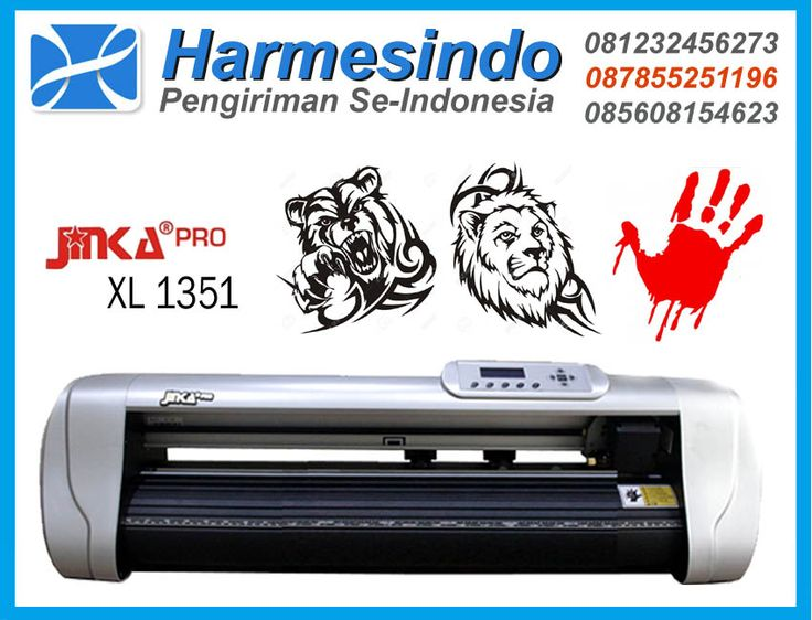 Mesin Cutting Sticker Jinka Pro 1351