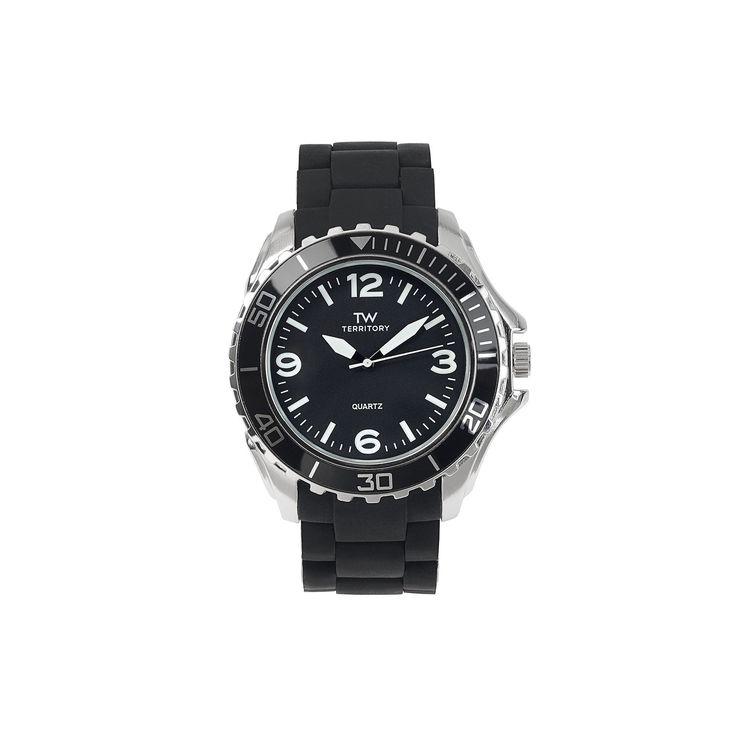 Territory Men's Watch, Black