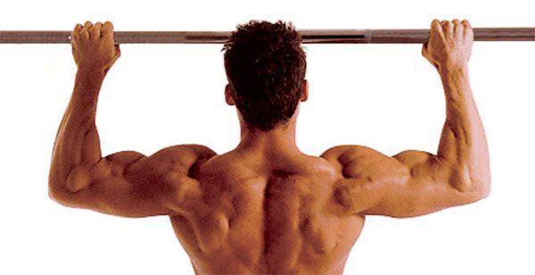 Barra fixa é um exercício simples e direto: se pendure na barra com uma pegada na largura dos ombros, suba até que o queixo ultrapasse a barra, desça até q