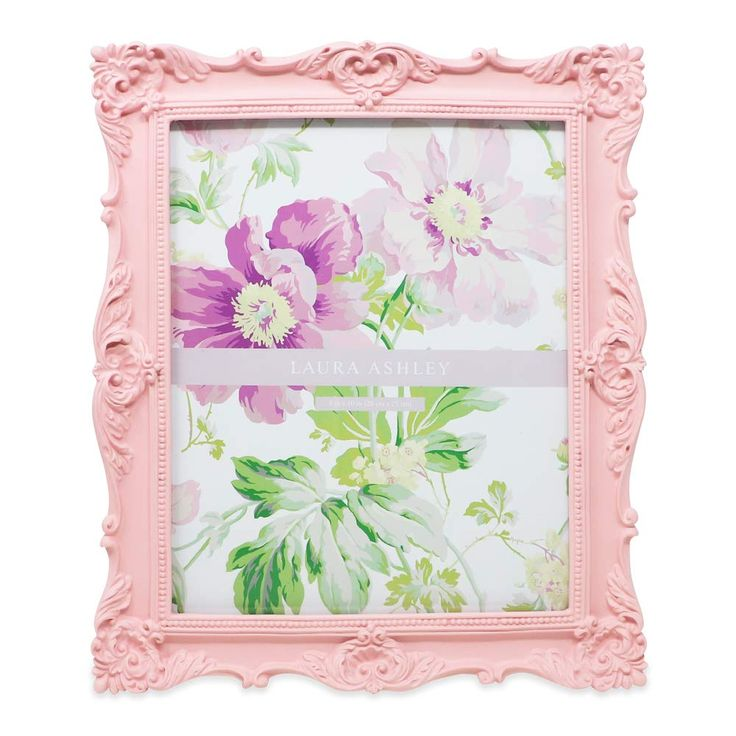 Amazonsmile laura ashley 8x10 pink ornate textured hand