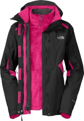 """I bought this jacket for my daughter and she loves it. It is a very sharp looking jacket. "" Customer review of the The North Face Women's Boundary Triclimate Jacket"