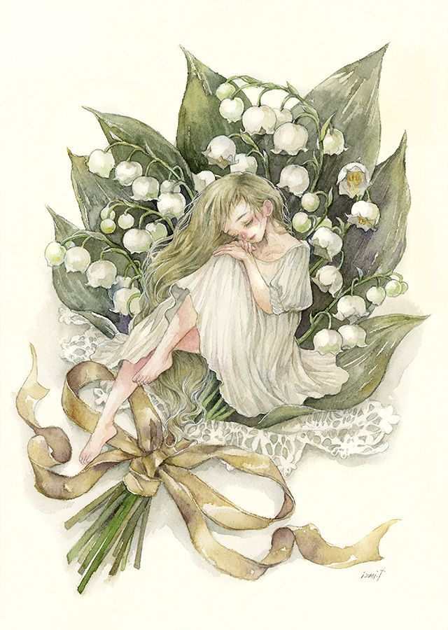 Lily of the valley by Izmi Toyoda
