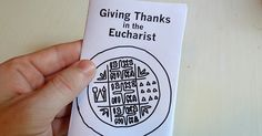 I put together this lesson on the Eucharist with a little zine for our kids at church. I tried to make the book appropriate for a broad a...