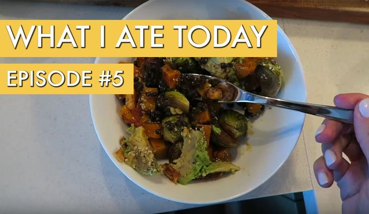 What I Ate Today: Episode 5 - YouTube