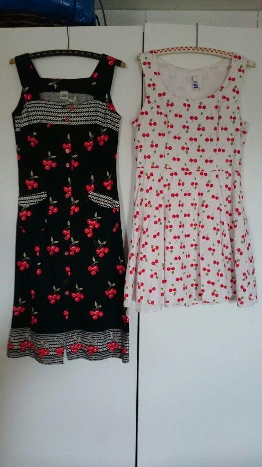 My cherry dresses.
