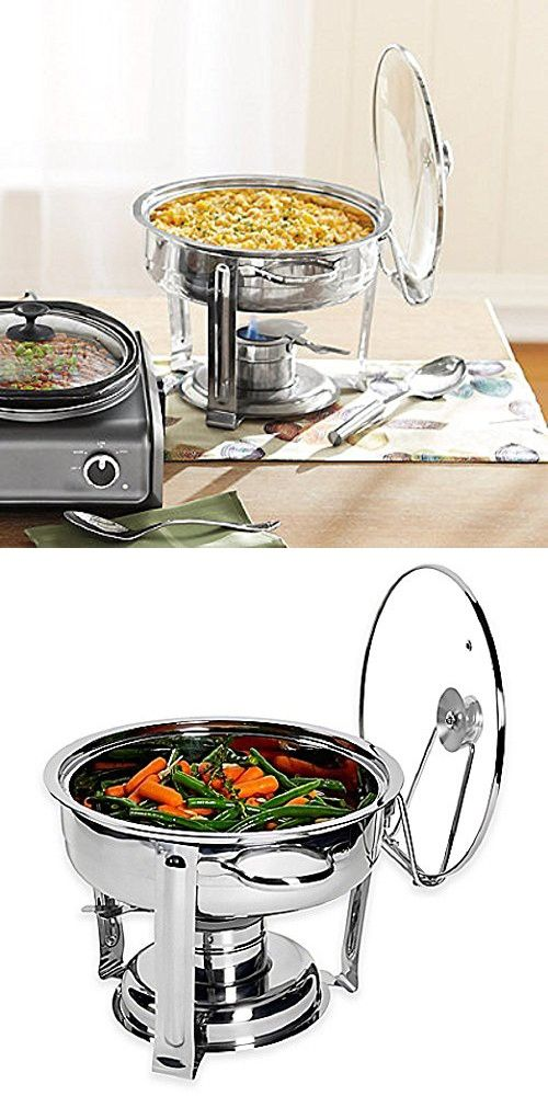 NEW! Denmark 7-Piece 4 qt. Chafing Dish, Stainless Steel Finish