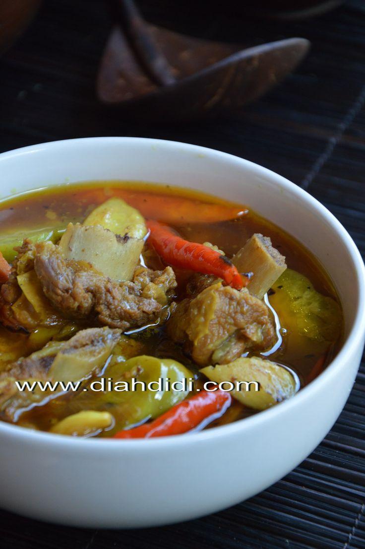 Diah Didi's Kitchen: Inspirasi Menu Buka Puasa / Sahur Hari ke 2 ( Pindang Iga Cemplung Khas Jawa Timur )