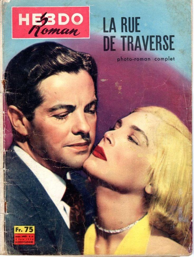 HEBDO ROMAN 22 (1958) LA RUE DE TRAVERSE  ROBERT CUMMINGS