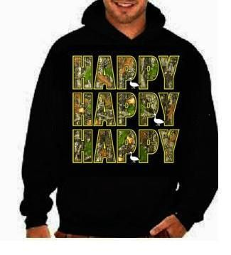 camo Happy Happy Happy funny cool gifts:hoodie sweat shirt screen print hoodies Funny Humorous clothes designs graphic hooded hoody on Etsy, $28.16 CAD