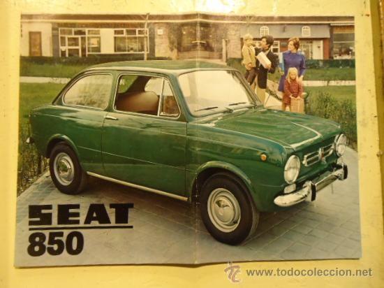 CATALOGO SEAT 850 año 1970