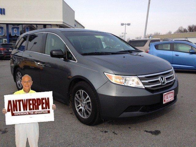 2011 Honda Odyssey, 56,010 miles, $22,495.