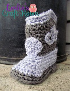 Children's Crochet Cowboy Boots free pattern