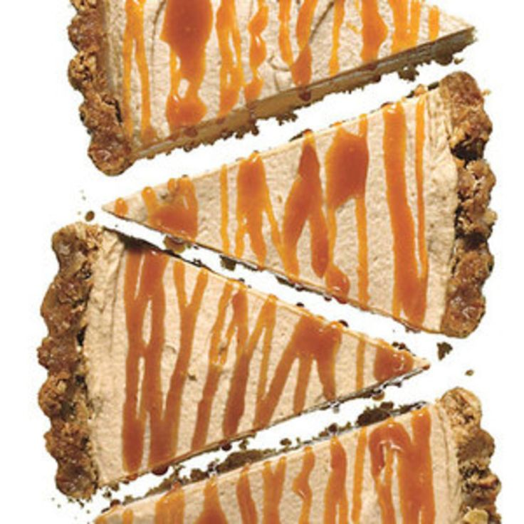 Peanut Butter Pretzel Tart with Caramel Drizzle - Rachael Ray Every Day
