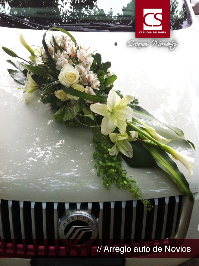 arreglos de auto para bodas - wedding ideas