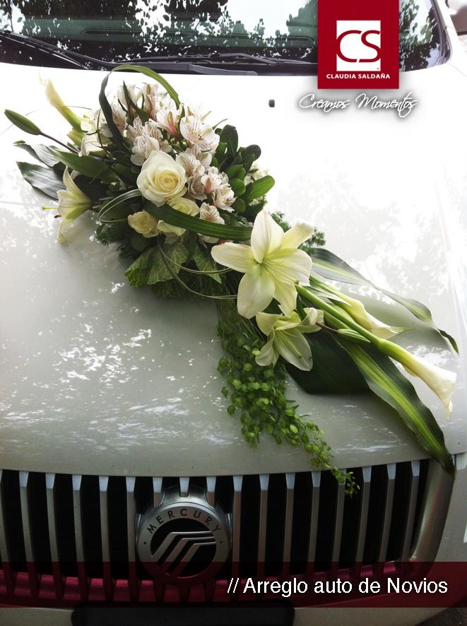 arreglos de auto para bodas -