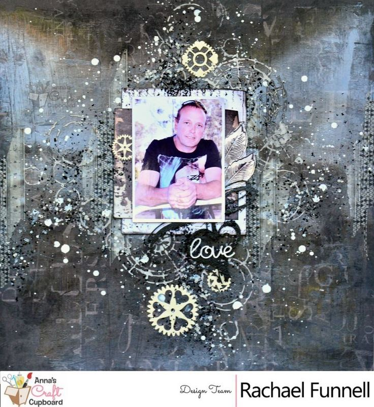 It's time for our next DT Inspiration reveal for our May 2017 Colour Challenge. This time with have the incredibly talented Rachael Funnell with this gorgeous layout ❤️😍💕 This month's colour challenge is all about going back to the basics, what can you do with Black and White?  For more information on the colour challenge and how to enter to win the 🎁 on offer, visit the Anna's blog