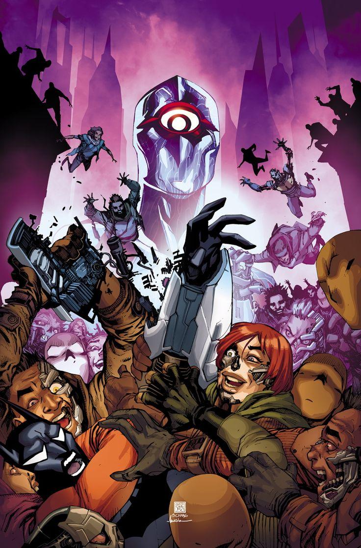 BATMAN BEYOND #5 -  Written by DAN JURGENS,  Art and cover by BERNARD CHANG
