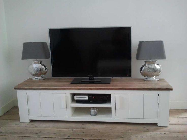 Steigerhout TV-meubel Kaja - Steigerhout Furniture | Unieke steigerhouten meubelen & tuinmeubelen op maat gemaakt!
